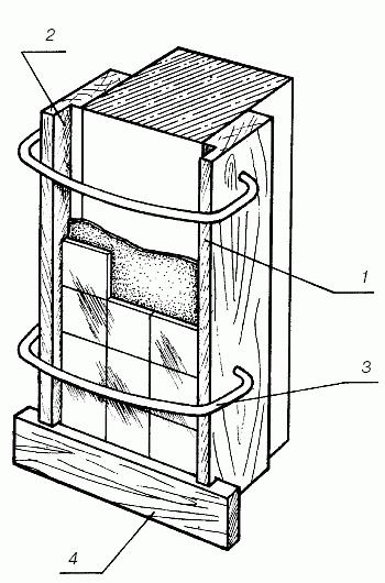 облицовка колон плиткой